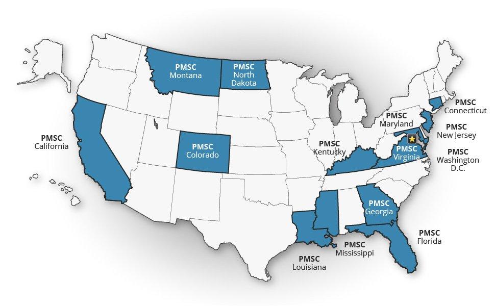 PMSC USA Presence